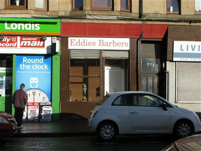 Eddies Barbers Glasgow