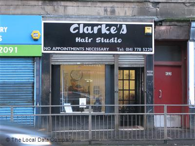 "Clarke""s Hair Studio Glasgow"