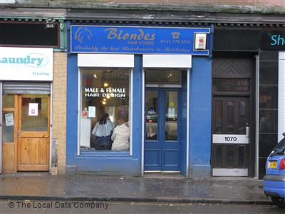 Blondes Hair Studio Glasgow