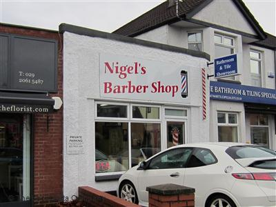"Nigel""s Barber Shop Cardiff"