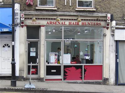 Arsenal Hair Hunters London