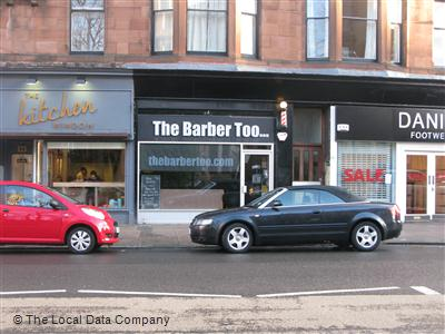 The Barber Too... Glasgow