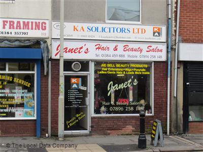 "Janet""s Hair & Beauty Salon Dudley"