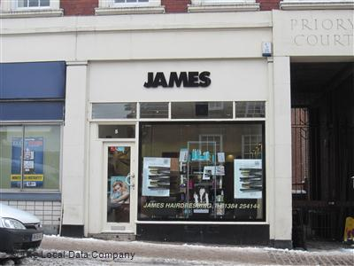 James Hairdressers Dudley