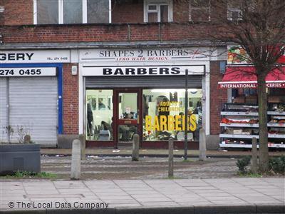 Shapes 2 Barbers London