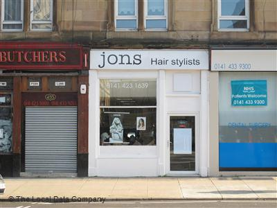 Jons Hair Stylists Glasgow
