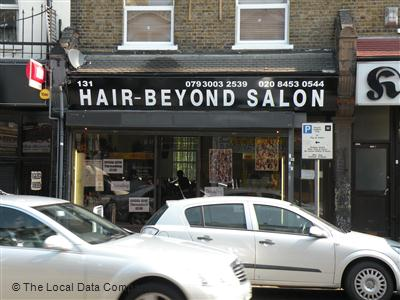 Hair beyond salon london hairdressers in brent park london for Above beyond salon