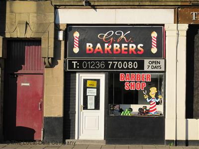 GK Barbers Airdrie