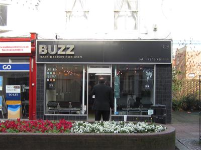 Buzz Hair Design For Men Ashford