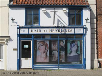 "Hair by Headlines King""s Lynn"
