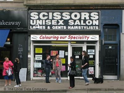Scissors Unisex Salon Glasgow