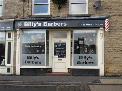 Billys Barbers High Peak